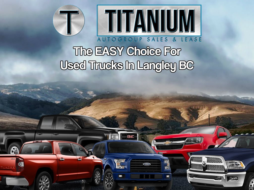 Used Trucks Langley BC - Used Trucks For Sale In BC